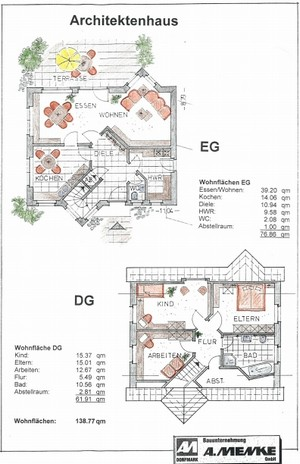 Bauunternehmen Albert Menke Gmbh Massivhäuser Architektenhäuser ... Schlafzimmer 10 Qm