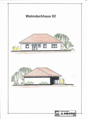 Bauunternehmen albert menke gmbh massivh user for Walmdachhaus grundriss